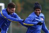 """T.Henry: """"Būčiau labai laimingas, jei """"Arsenal"""" laimėtų """"Premier"""" lygą"""""""
