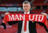 """Draugiškose """"Man United"""" rungtynėse gali debiutuoti O.G.Solskjaero sūnus"""
