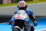Sensacija: šlapiose Olandijos GP lenktynėse triumfavo vienas iš bendros įskaitos autsaiderių