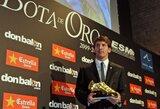 "Europos ""Auksinį batelį"" laimėjo ""Barcelona"" klubo puolėjas L.Messi"