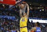 """Kroato karjeros pasirodymas pažymėtas """"Lakers"""" pergale po pratęsimo"""