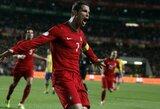 C.Ronaldo padėjo portugalams nukauti švedus, Prancūzija – ant bedugnės krašto