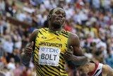U.Boltas triumfavo 200 m bėgime ir iškovojo septintą pasaulio čempionatų aukso medalį