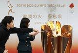 Dėl koronaviruso grėsmės japonai pažeis nusistovėjusias olimpinio deglo estafetės tradicijas
