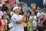 JAV teniso žvaigždė A.Roddickas oficialiai baigė profesionalo karjerą