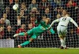 """""""Manchester United"""" krachas tęsiasi: netekę vartininko pralaimėjo žemesnės lygos komandai ir iškrito iš """"Carabao"""" taurės"""