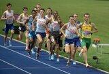 Trečdalį finalo pirmavęs S.Bertašius Europos čempionate buvo arti Lietuvos rekordo