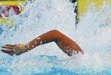 Paskutinę pasaulio plaukimo čempionato dieną D.Rapšys užėmė 23-ą vietą (R.Dvariškytė - diskvalifikuota)