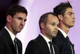 Paskelbta simbolinė UEFA metų vienuolikė