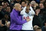 """""""Tottenham"""" džiūgauja – S.Heung-Mino raudona kortelė, po kurios A.Gomesas patyrė kraupią traumą, atšaukta"""
