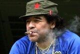 D.Maradona sulaukė pelningo pasiūlymo dirbti Baltarusijos klube