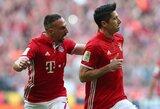 """""""Bayern"""" sutriuškino """"Borussia"""" klubą ir žengė žingsnį titulo link"""