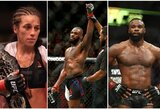 """""""UFC 230"""" nežinomybė: J.Joneso sugrįžimas, J.Jedrzejczyk kova dėl naujo titulo ar T.Woodley prieš C.Covingtoną?"""
