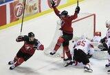Ledo ritulio stebuklas: likus 0.4 sek. išsigelbėjusi Kanada – pasaulio čempionato pusfinalyje!