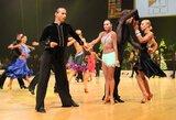 Kėdainiuose paaiškėjo Lietuvos standartinių šokių čempionai