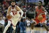 """N.Mirotičiaus dienos Čikagoje – suskaičiuotos, """"Bulls"""" žaidėjai palaiko B.Portisą"""