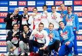 Rusai pagerino pasaulio plaukimo rekordą, J.Hassler iškovojo Lichtenšteinui pirmąjį medalį per istoriją