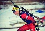 IBU taurės etape Lietuvos biatlonininkai liko antroje rikiuotės pusėje