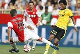 """Be R.Falcao žaidęs """"Monaco"""" neįveikė """"Lille"""" (+ kiti rezultatai)"""