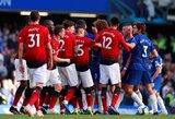 """J.Mourinho ir toliau nelaimi """"Stramford Bridge"""" stadione: """"Chelsea"""" paskutinėmis sekundėmis išplėšė lygiąsias su """"Manchester United"""""""