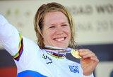 I.Čilvinaitė pasaulio plento dviračių čempionate – 15-a