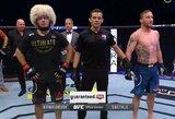 """""""UFC 254"""" algos: Ch.Nurmagomedovas uždirbo daugiau nei visi kiti kovotojai kartu sudėjus"""