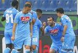 """Italijoje pergales šventė """"Milan"""" ir """"Napoli"""" klubai"""