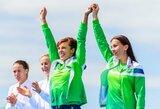 D.Vištartaitė ir M.Valčiukaitė po bronzinio finišo liko be žado