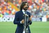 """""""Juventus"""" legenda: """"A.Pirlo turi reikiamas savybes, jog taptų geresniu treneriu už Z.Zidane'ą"""""""