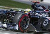 Pirmosiose Europos GP treniruotėse greičiausias buvo P.Maldonado