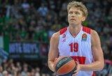 Abu lietuviai neišsiskyrė, o Milano klubas patyrė antrą pralaimėjimą iš eilės