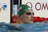 M.Sadauskas užtikrintai žengė į Europos plaukimo čempionato pusfinalį