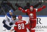 Pasaulio ledo ritulio čempionate – pirma šeimininkų pergalė