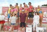 Lietuvos paplūdimio tinklininkės išbandė jėgas su Europos čempionėmis