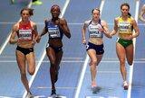 Bėgikė A.Šerkšnienė pasaulio čempionato pusfinalyje dar kartą pagerino Lietuvos rekordą