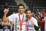 """""""Žalgirio"""" krepšininkai apgynė BBL čempionų titulą"""