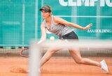J.Mikulskytė su partnere Prancūzijoje lengvai pateko į ketvirtfinalį