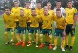 Lietuvos U-17 rinktinė baigė pasirodymą atrankoje