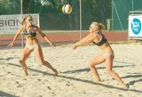 Visos trys Lietuvos paplūdimio tinklinio poros Austrijoje pateko į atkrintamąsias varžybas