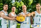 3x3 krepšinio rinktinė išvyko į Pasaulio čempionatą