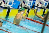 D.Rapšys kovos dėl pirmojo medalio Europos čempionate, R.Meilutytė nesunkiai pateko į pusfinalį (papildyta)