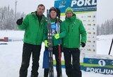 L.Banys ir N.Romanovas – pasaulio jaunimo biatlono taurės etapo persekiojimo lenktynėse