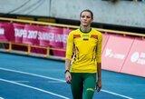 Neklydusi A.Palšytė pateko į Europos čempionato finalą, E.Balčiūnaitė neišlaikė varžovių tempo