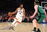 """""""Knicks"""" atsisakė įžaidėjo paslaugų"""