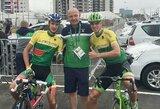 Rio: Lietuvos dviratininkams pakeliui į finišą – sunkios kliūtys