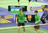 """P.Bartušis liko per žingsnį nuo pagrindinio """"Yonex Polish Open"""" badmintono turnyro"""