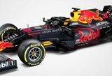 """""""Red Bull"""" ir """"Renault"""" pristatė """"Formulės 1"""" bolidus, sezono tvarkaraštį sujaukė korona virusas"""