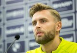 Kuriozas Lietuvos rinktinėje: A.Žulpa išbrauktas iš sudėties dėl traumos, bet toliau sėkmingai rungtyniauja Kazachstane
