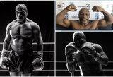 98-ųjų M.Tysonas grįžta? Fanus pribloškė bokso legendos fizinė forma