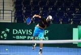 L.Mugevičius pirmą kartą karjeroje ATP reitinge pasiekė simbolinę ribą